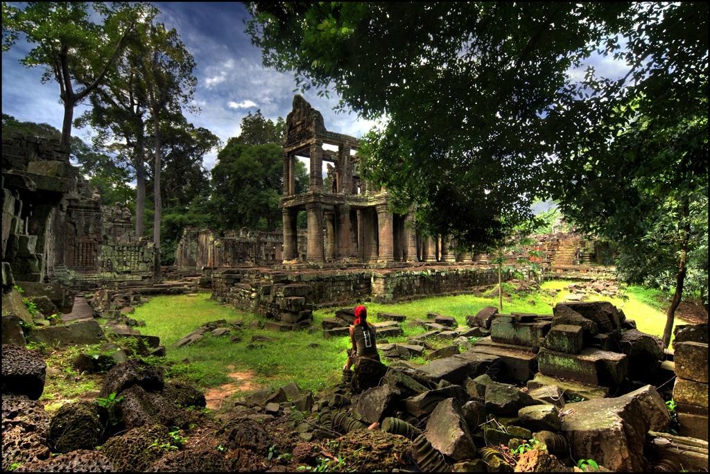 Camboya templos angkor marzo