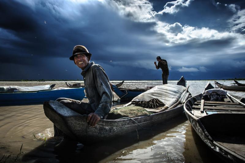 Lago_Tonle_Sap, Camboya