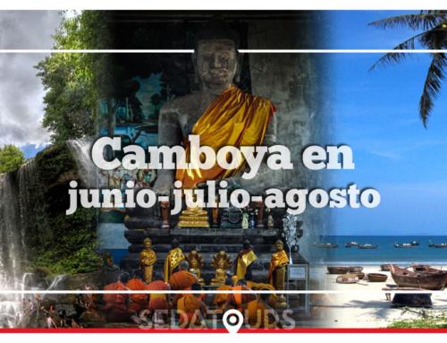 Viajar a Camboya en junio, julio y agosto | Clima, qué visitar y qué hacer