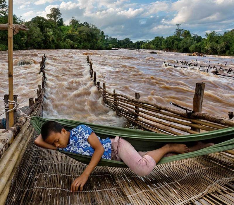 Mekong, el río que cambia de curso en Camboya