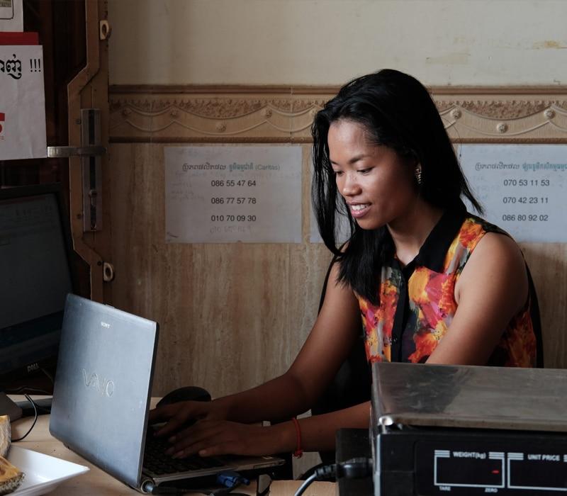 Emprender en Camboya suele tener más de imitación que de innovación