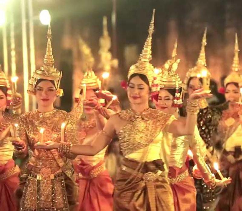 Año nuevo en Camboya
