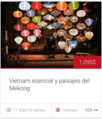 """Tour """"Vietnam esencial y paisajes del Mekong"""""""