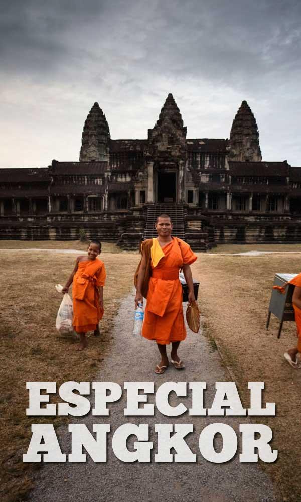 Viaje especial a Templos de Angkor en Camboya