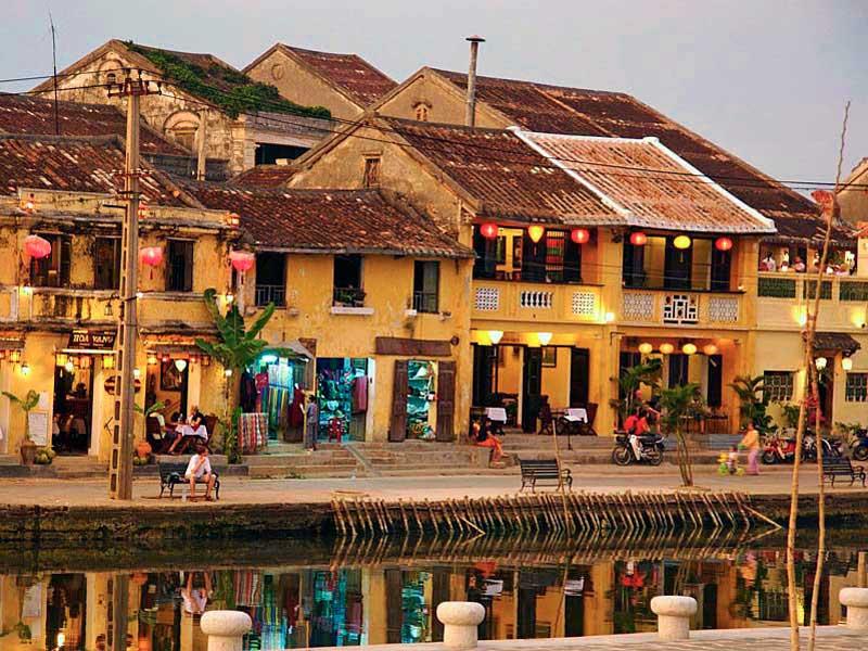 Aldea de Hoi Ann en Vietnam
