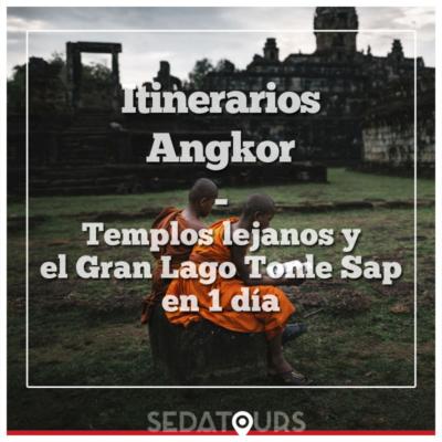 Itinerario de 1 día por los templos de Angkor lejanos