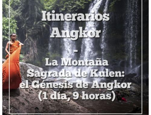 Itinerarios Angkor | La Montaña Sagrada de Kulen: el Génesis de Angkor (1 día, 9 horas)