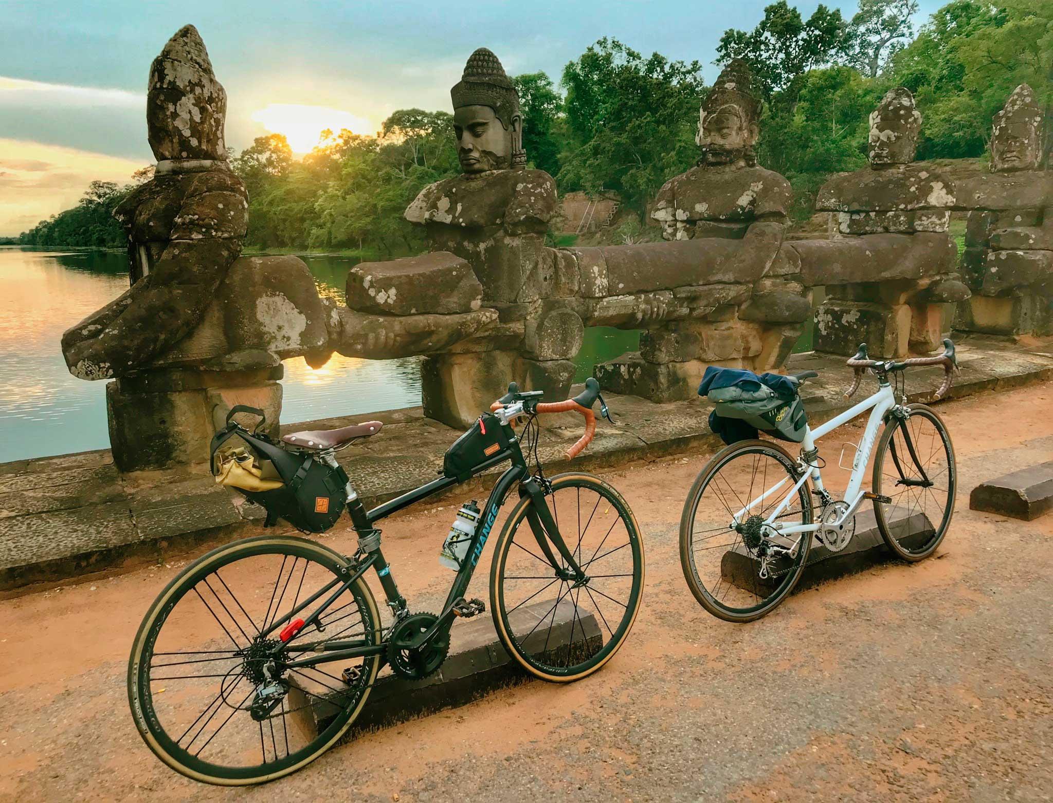 Visita los Templos de Angkor en bicicleta lo mejor de Camboya
