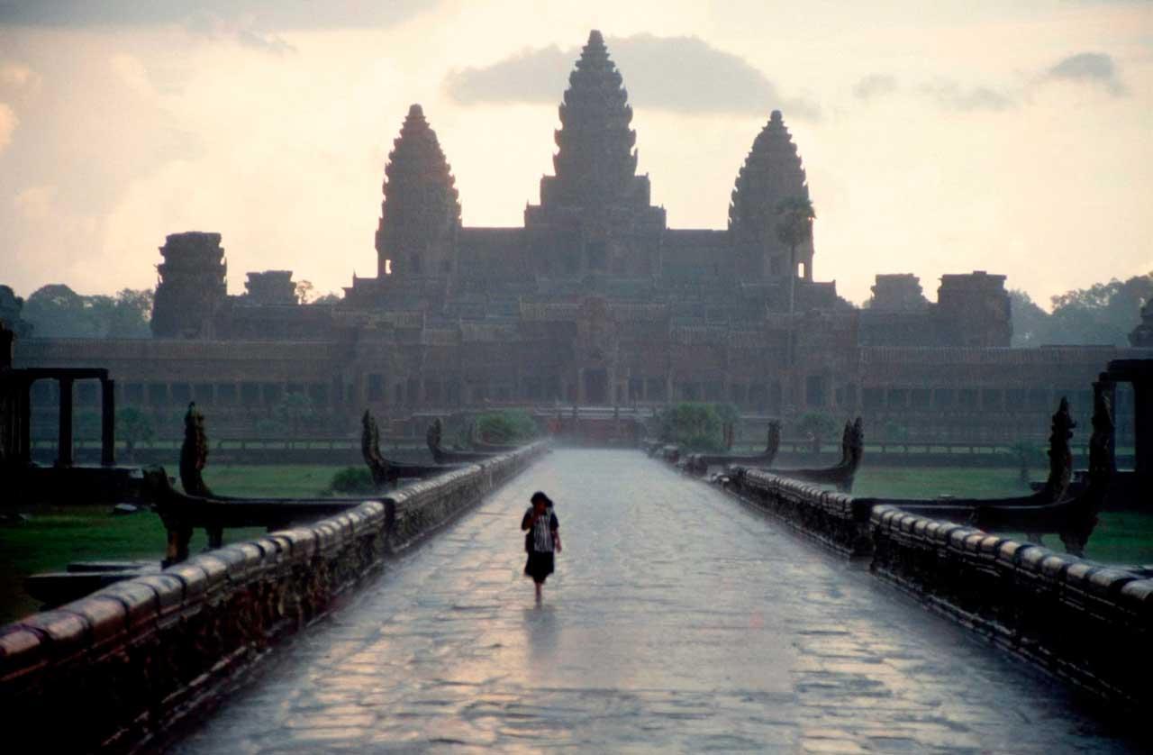 Visita a los templos de Angkor a pie