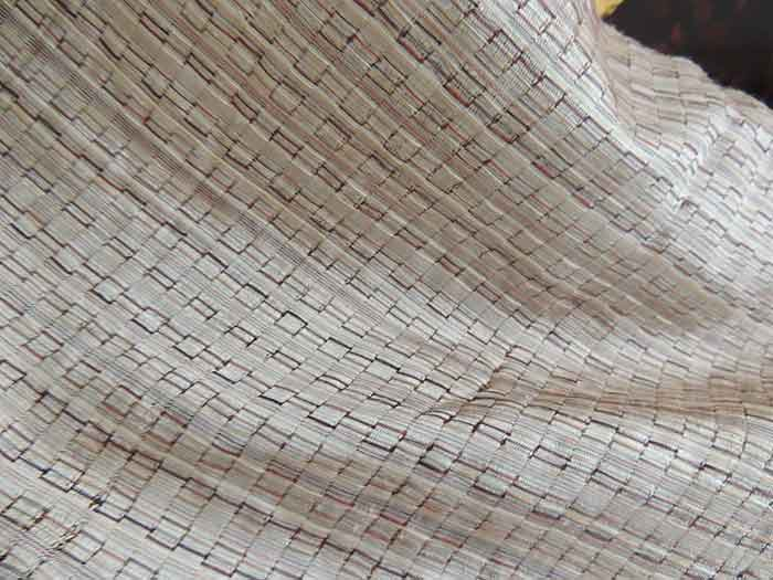 Muestra de seda Golden Silk en Camboya