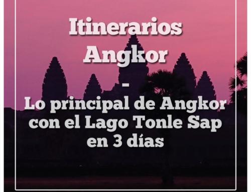 Itinerarios Angkor | Lo principal de Angkor con el Lago Tonle Sap en 3 días