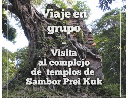 Visita en grupo a Sambor Prei Kuk: El complejo de los «templos voladores»