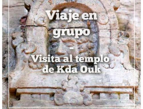Visita en grupo al templo Kda Ouk: Los 12 Occidentales de la antigua Camboya