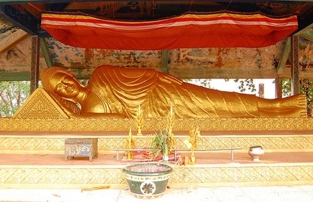 Templo de Wat Rahtanharahm en Ratanakiri