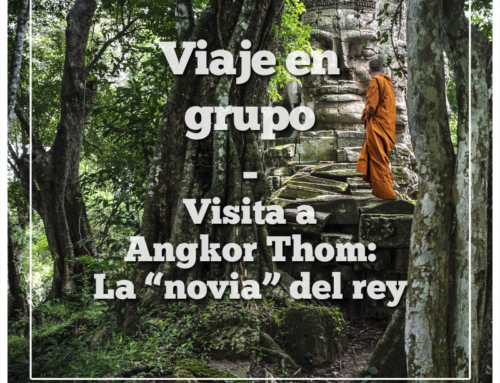 Visita en grupo a Angkor Thom: La novia del gran rey