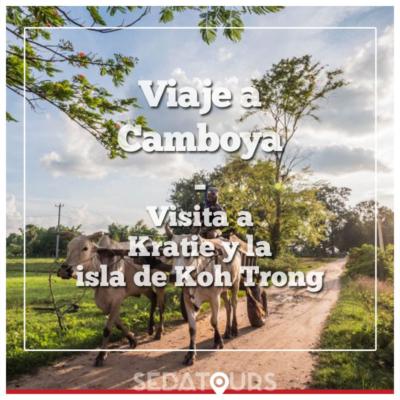 Visita a la isla de Koh Trong desde Kratie