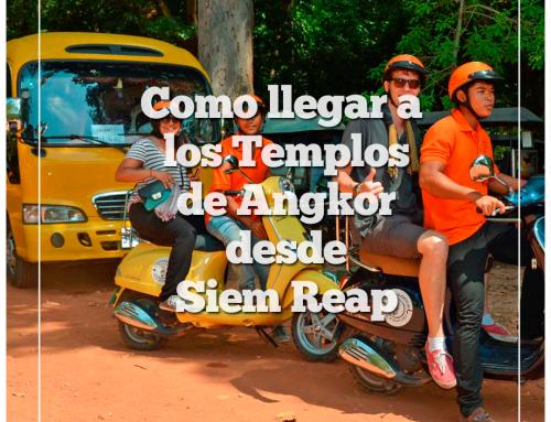 Cómo llegar a los Templos de Angkor desde Siem Reap