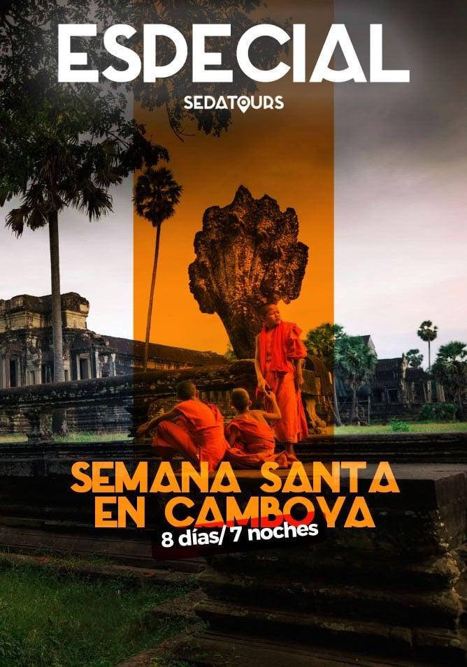 Tour organizado Semana Santa Camboya