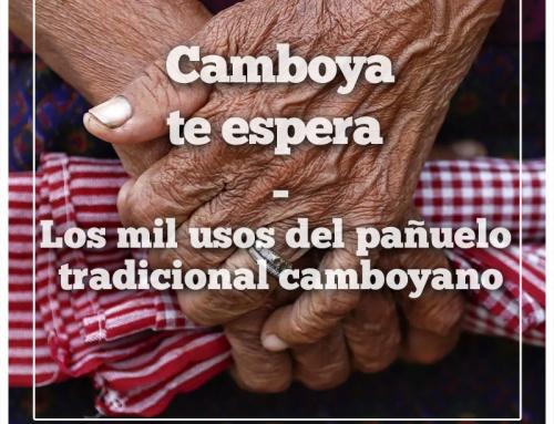 Los mil usos del pañuelo tradicional camboyano (Kroma)