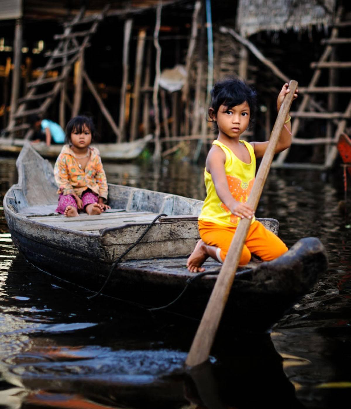 Maravillas de Angkor y Lago Tonle Sap