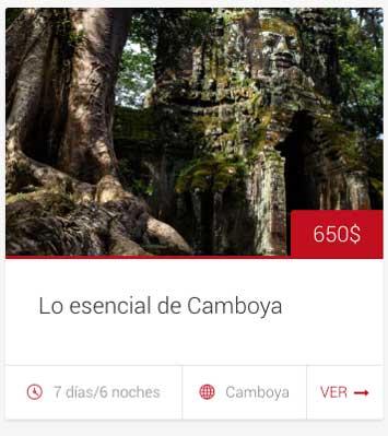 Tour camboya esencial - viaje en grupo - 7 dias