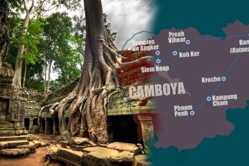 Viaje organizado a Camboya en Navidad